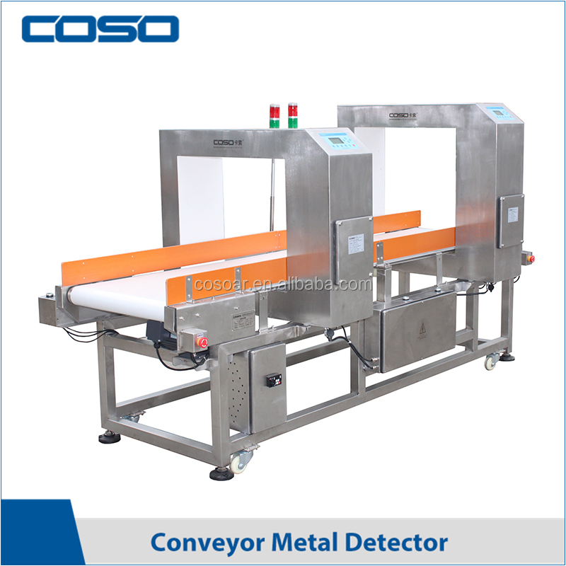 Digital double sensor metal detector for food, plastic, textile industry