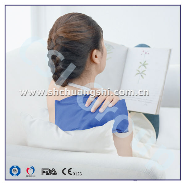 soft cold hot gel pack/shoulder compress