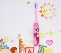 Superior Best Selling Mini Travel Electric Toothbrush Kids Animal Toothbrush