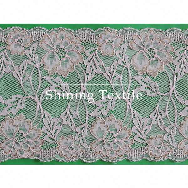 15-20cm Stretch Nylon Spandex Lace Motif Applique For Underwear