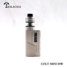 Best vape mod teslacigs ecigs 2000mAH Battery cell Teslacigs colt mini 80W with wholesale Price