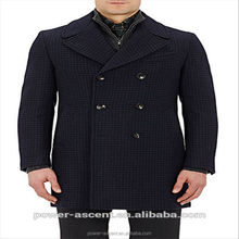 2016 new designer 100% cashmere coats for men
