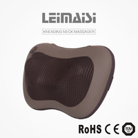CE Ruian LEIMAISI PU wholesale car with infrared heat warmer electric massage pillow