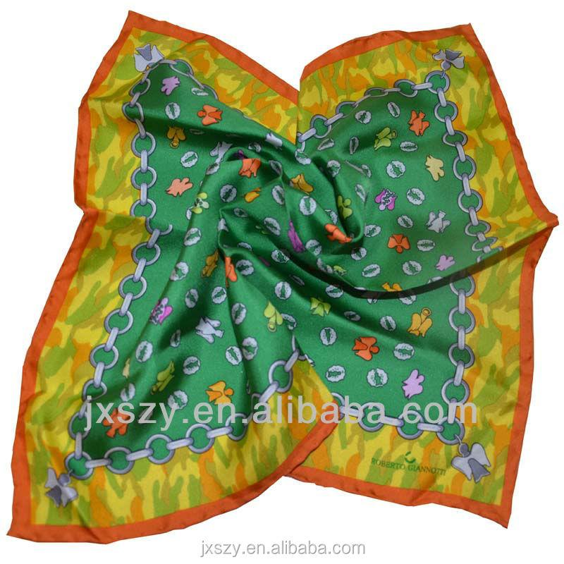 print silk scarf digital print 100 silk print twill silk