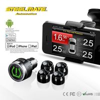 2015 Steelmate TPMS-8886 car wireless DIY TPMS air tool accessory, phone tpms,air gauge valve