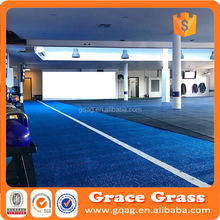 Blue color high density 10mm Artificial Grass for Crossfit Gym