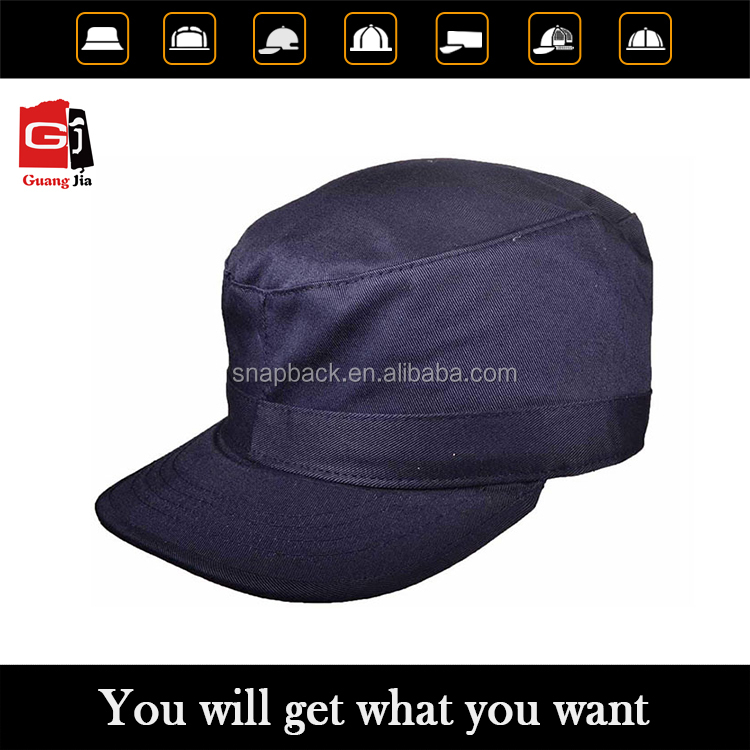 custom different color and types of military hats