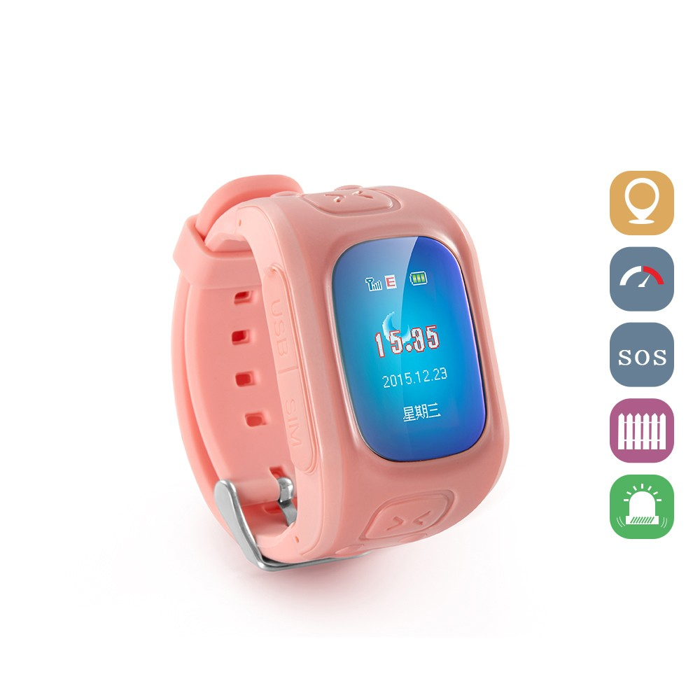 2016 cheap GPS wifi location SOS kid mobile watch phone for android
