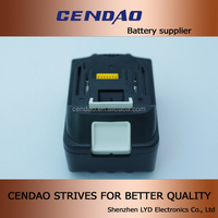 14.4v li-ion battery pack makita 3000mah 14.4v battery for makita BL1415, 194066-1, 194065-3,