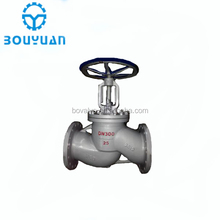 300LB DN25 Cast Carbon Steel Gear operated Globe Valve