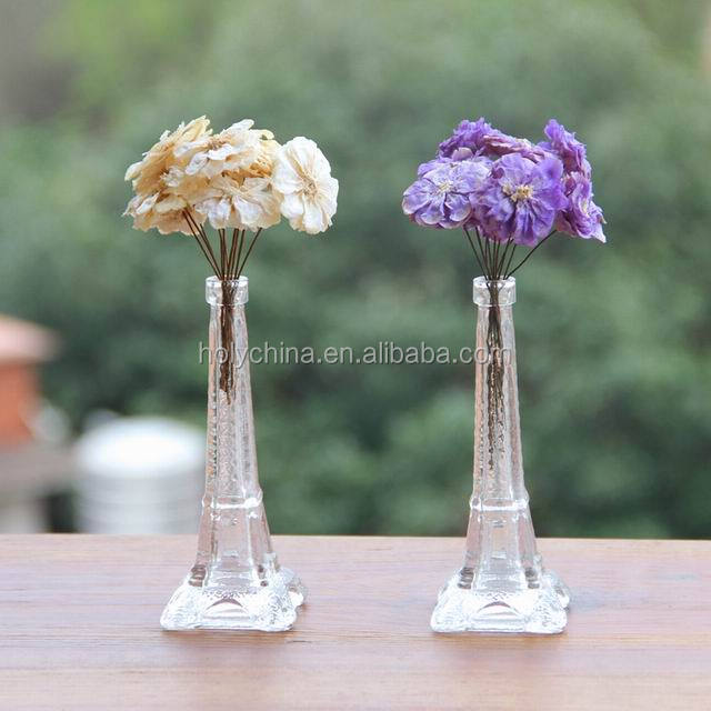 hot sale high quality custom made wholesale eiffel tower vases
