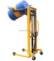 Hydraulic Manual Drum Stacker Capacity 400kg With Hand Tilter