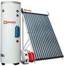 Split Solar Water Heater ,Pressurized Bearing Solar Panel Collector,vacuum tubes heat pipe 24mm red cooper heating