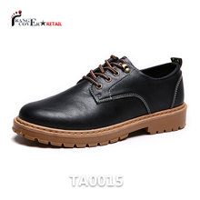 Derby Style Durable Rubber Soles London Brown Casual Shoes Men