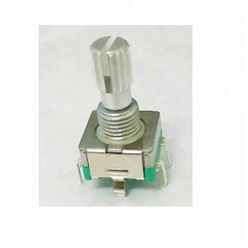 30 detent self-return switch encoder with thread bushing metal shaft