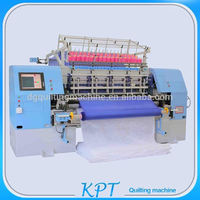 smart industrial multi needle quilting machine for garment/sleeping bag