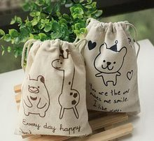 Attractive fashion new style small or canvas drawstring bag