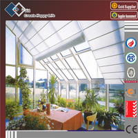China Manufacturer Aluminium Glass Sunroom For Solarium