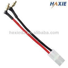 Banana plug to Tamiya plug charge cable