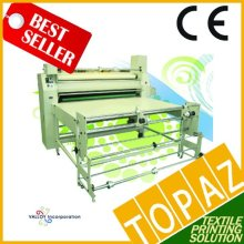 Korea Roll Heat Press Machine - Elecrtic Drum Type (200cm width, 35cm dia drum)