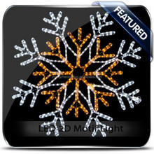 specialized manufacturer snowflake light effect