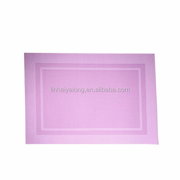 Chinese suppliers texlin fabric eat mat