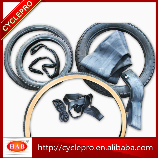 China supply bicycle & motorcycle tyre tube
