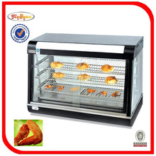table top food warmer/Curved glass warming showcase R60-1