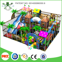 Commercial Safety Wood Indoor Children Playground Equipment For Sale