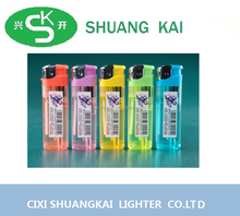 a cigarette bar code transparent lighters wholesle from China