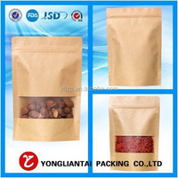 custom wholesale wax coated paper bag food