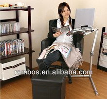 For iPad 2 3 4 5 Classroom/Sofa Folding Floor Tablet Holder Mount Universal Laptop Holder