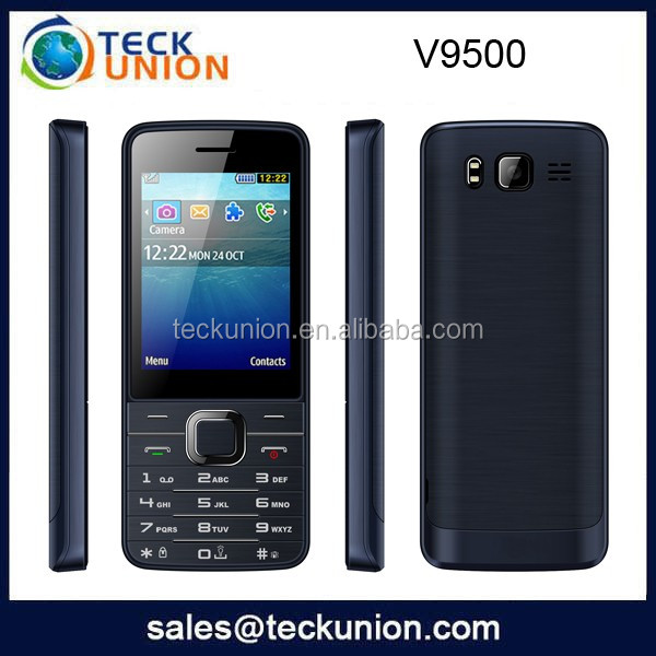 V9500 2.8QVGA quad band best 4 sim card mobile phone