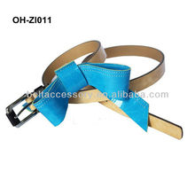 Ladies skinny chastity belts for girls 2013 fashion with bowknot
