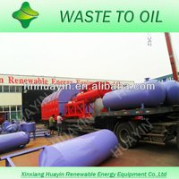 CRUDE OIL FROM TYRE PLASTIC AS