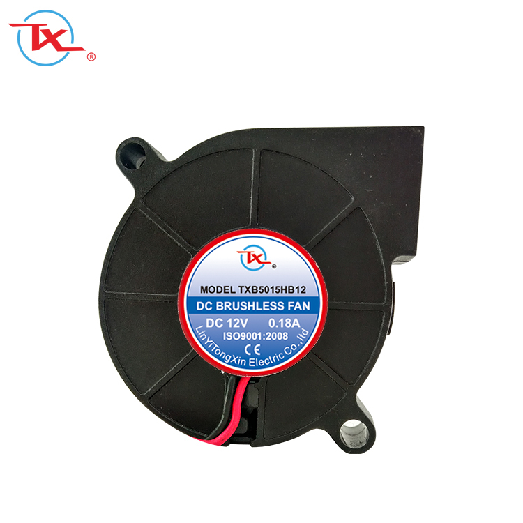 50mm 5CM 5015 5V USB Double Ball Bearing computer case fan 0.30A 5500RPM