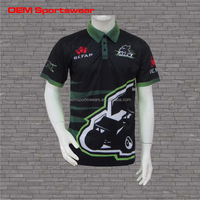 Customized Motorcycle & Auto Racing Wear Sports Shirts