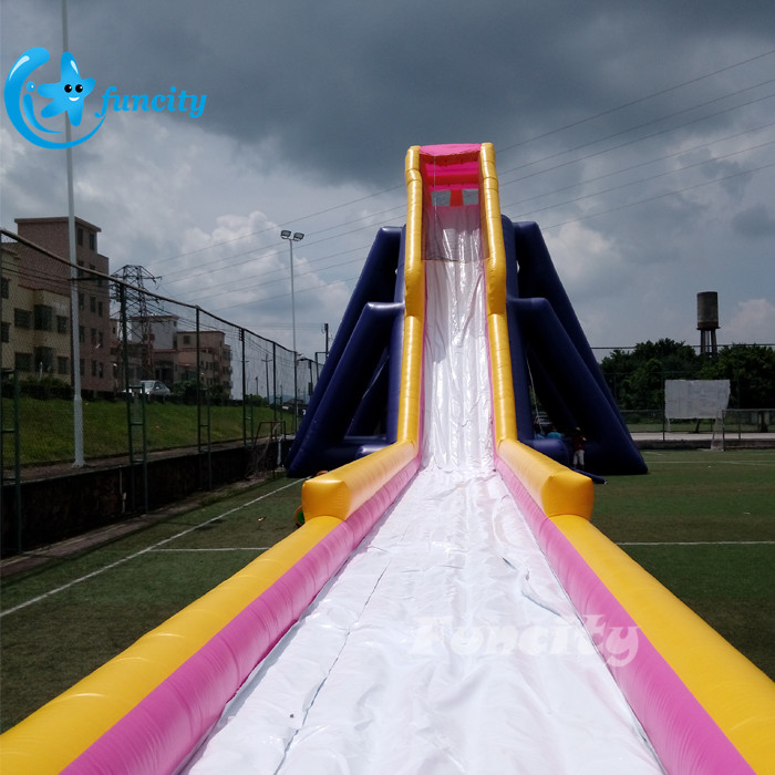 Commercial Inflatable Water Slide With Slip Slide , Large Inflatable Water Slide