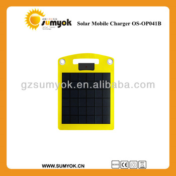 4W portable ETFE laminated portable Solar panel charger for backpack