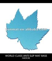 The beautiful maple shaped anti slip mat ,non-slip pad for car,magic pad