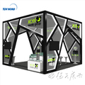 Detian offer showroom display system Stand exhibition kits stands display
