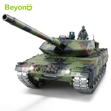 henglong 2.4Ghz 1:16 Scale Remote Control German Leopard 2A6 RC Tank with Smoke & Sound
