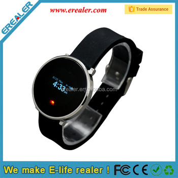 2015 newest wearable devices OLED display bluetooth smart health watch