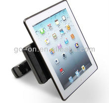 Attractive car holder for ipad with charger,IR & FM transmitter