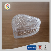 Wholesale Glass Heart Shaped Boxes