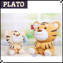 Customed stuffed plush tiger cubs, plush little tiger toys