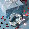Souvenir diamond crystal heart wedding gift
