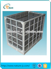 steel mesh box wire cage metal bin vegetable storage cage