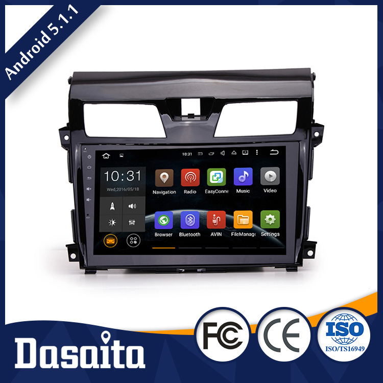 Cheap 10.2 Inch High quality 4x50W Surround Stereo car gps dvd player for Nissan Teana 2013 2015