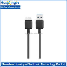 alibaba supplier china mobile phone accesory manufacture supply USB 3.0 male to micro B cable for SAMSUNG galaxy Note3 S5